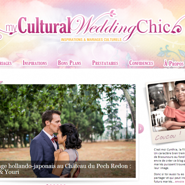 Publication - Mariage - My Cultural Wedding Chic