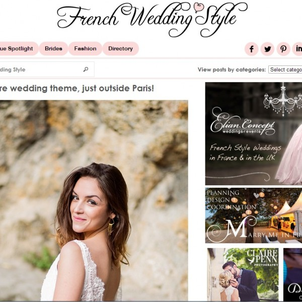 Publication - Shooting - French Wedding Style