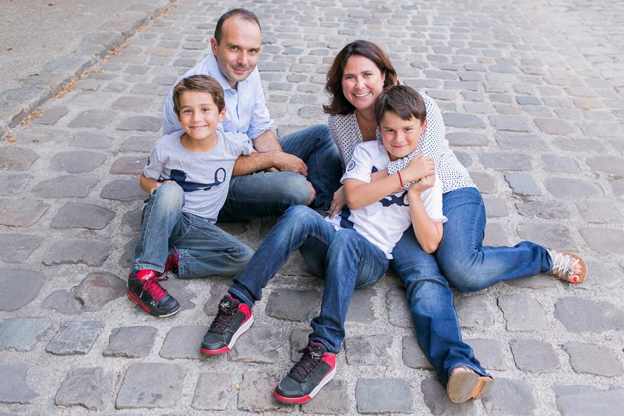 Famille - Emilie et ses hommes - Paris (75)