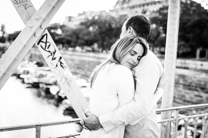 Engagement - Aude et Pierre - Paris (75)