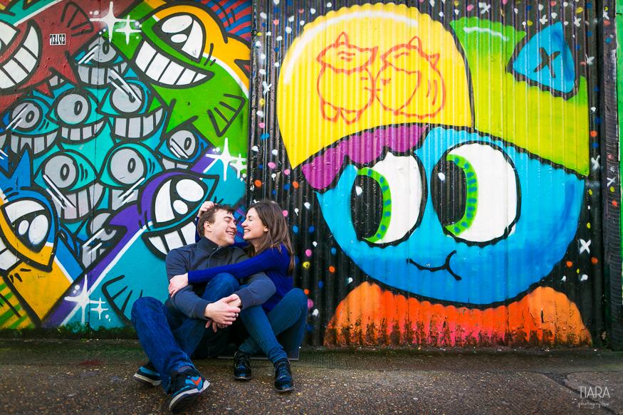 Engagement - Charlotte et Florian - Londres