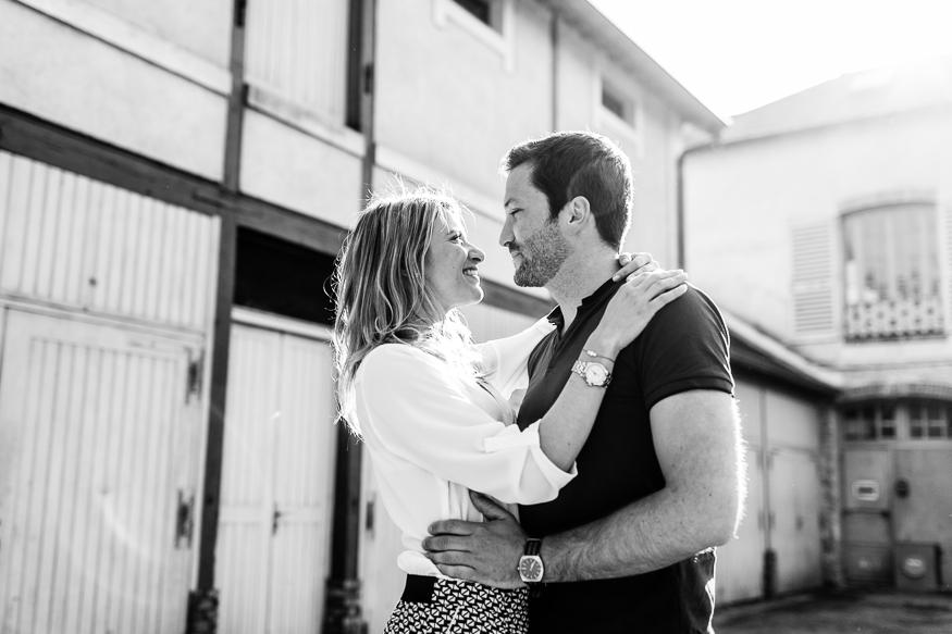 Engagement - Julie et Romain - Paris (75)