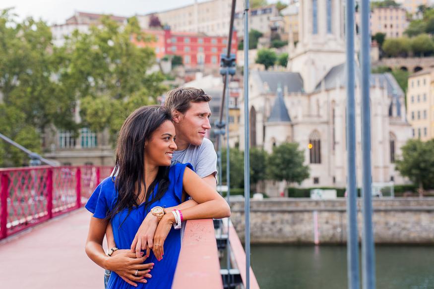 Engagement - Pascale et Djo - Lyon (69)