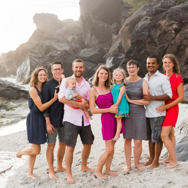 Famille - Audrey et sa tribu - Ile de la Réunion (974)