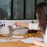 Atelier de la marque de vêtement de cérémonie pour enfant Les Petits Inclassables