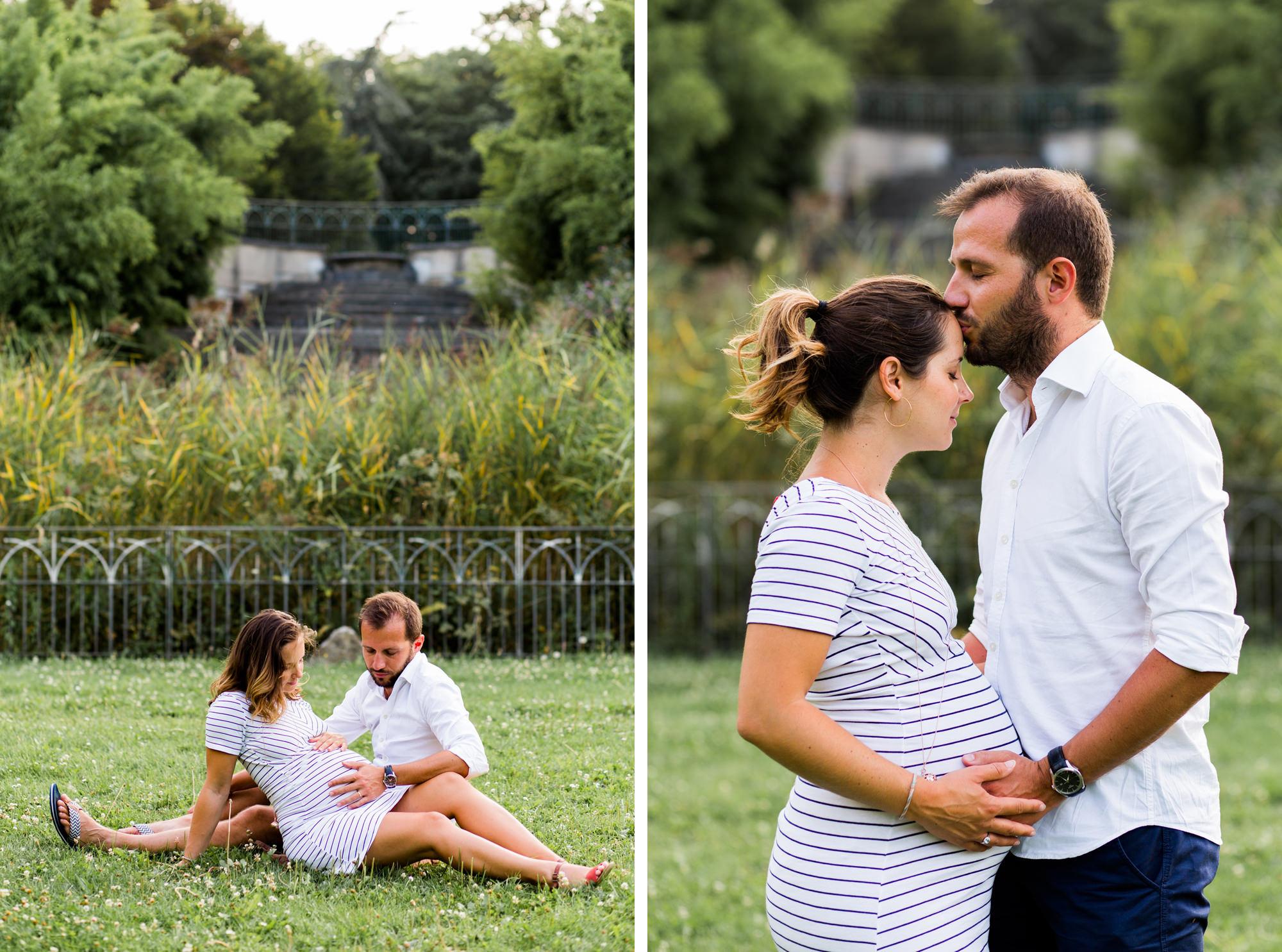 Une séance grossesse à Paris par Fanny Tiara