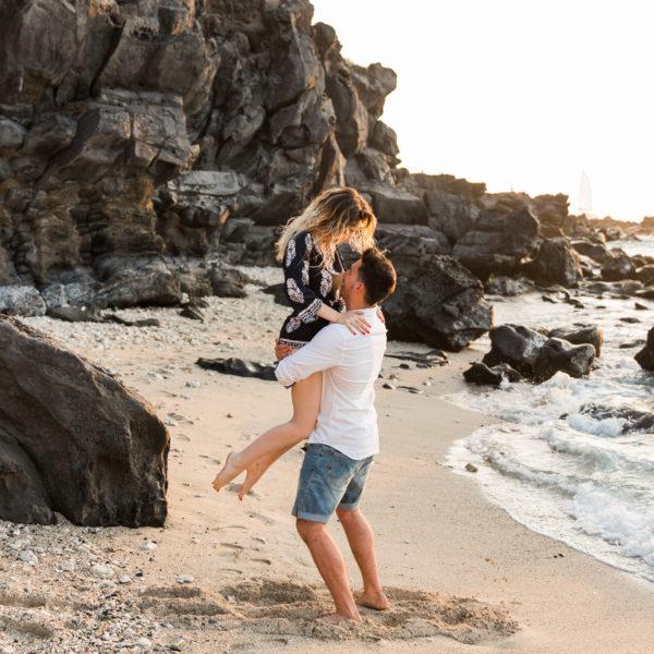 Une séance photo de couple sur l'île de la Réunion - Lola et Nathan