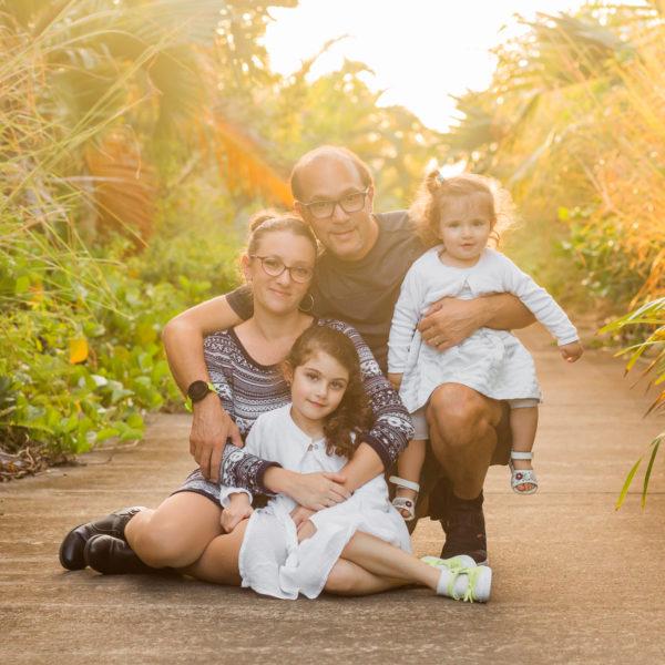 Beauséjour - Un shooting famille sur l'île de la Réunion
