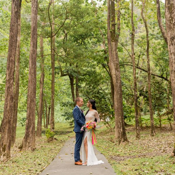Un mariage tropical au Jardin Créole de Sainte-Suzanne