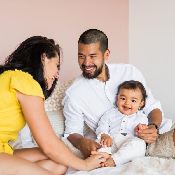 Une séance photo famille à domicile